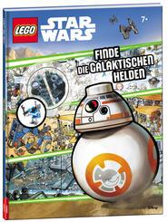 LEGO® Star Wars™ Wimmelbuch - Finde die galaktischen Helden (Mit Minifigur Arbeitsdroide)