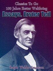 Essays. Erster Teil (eBook, ePUB)
