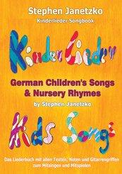 Kinderlieder Songbook - German Children's Songs & Nursery Rhymes - Kids Songs (eBook, PDF)