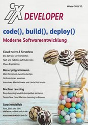 iX Developer 2019 - Moderne Softwareentwicklung (eBook, PDF)