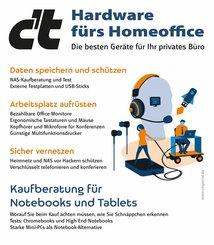 c't Hardware fürs Homeoffice (eBook, PDF)