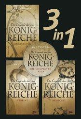 Die Legende der vier Königreiche - Die komplette Saga (3in1) (eBook, ePUB)