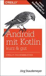 Android mit Kotlin - kurz & gut (eBook, PDF)