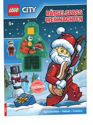 LEGO® City Rätselspaß Weihnachten - Geschichten, Rätsel, Comics (Mit Minifigur Weihnachtsmann)