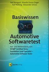 Basiswissen Automotive Softwaretest (eBook, ePUB)