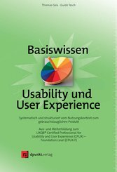 Basiswissen Usability und User Experience (eBook, PDF)