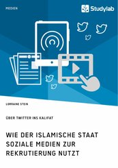Wie der Islamische Staat soziale Medien zur Rekrutierung nutzt. Über Twitter ins Kalifat (eBook, PDF)