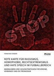 Rote Karte für Rassismus, Homophobie, Rechtsextremismus und Hate Speech im Fußballbereich (eBook, PDF)