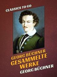 Georg Büchner  Gesammelte Werke (eBook, ePUB)