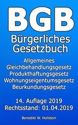 BGB Bürgerliches Gesetzbuch (eBook, ePUB)
