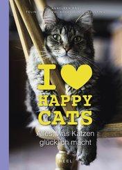 I love Happy Cats (eBook, ePUB)