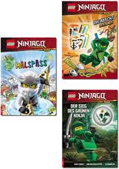 LEGO® NINJAGO™ - Lesebuch-Paket (4 Bücher)
