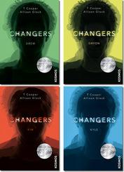 Changers - Die komplette Serie (4 Bücher)