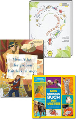 National Geographic KiDS - Kinderbuch-Paket (3 Bücher)