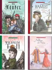 Weltliteratur für Kinder - Buchpaket (4 Bücher)