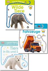 Folge der Fingerspur - Kinderbuch-Paket (3 Bücher)