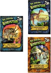 Das geheime Dinoversum - Dinosaurier-Abenteuer Kinderbuch-Paket (4 Bücher)