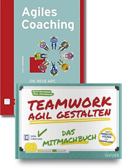 Agiles Teamwork / Projektmanagement - Buchpaket (2 Bücher)