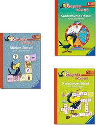 1. Lesestufe Ravensburger Paket - Leserabe Rätselspaß (3 Bücher)