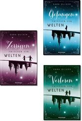 Die komplette Welten-Trilogie ( 3 Bücher)