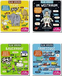 Kleine Entdecker - Kinderbuch-Paket (4 Bücher)